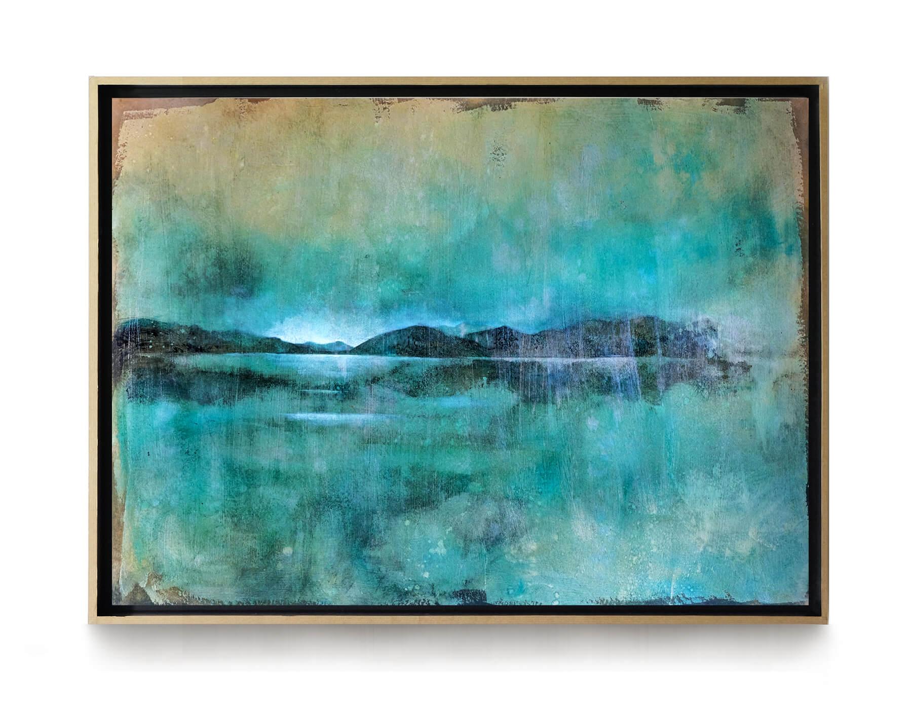 paysage_bleu_vert_80x65cm_acrylique_et_encre_encadree_lightbox